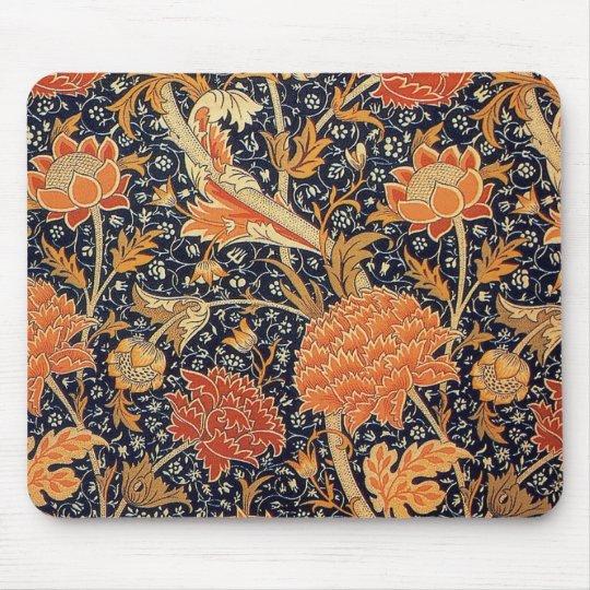 William Morris Wallpaper Cray Design Mouse Pad