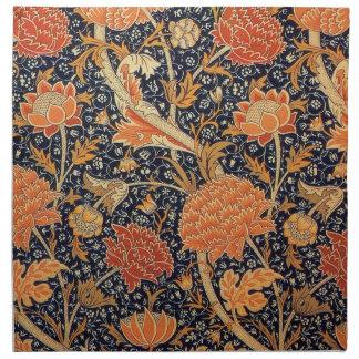 William Morris Wallpaper Cray Design Napkin
