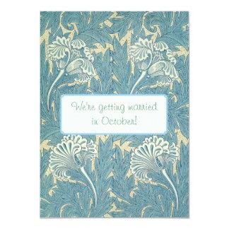 William Morris Wallpaper Designs Card