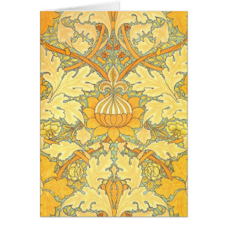 William Morris Wallpaper for St. James Place Cards