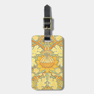 William Morris Wallpaper for St. James Place Luggage Tag