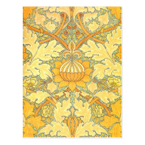 William Morris Wallpaper for St. James Place Postcard