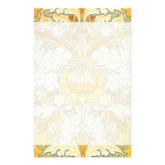 William Morris Wallpaper for St. James Place Stationery