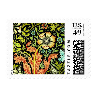 William Morris Wallpaper Stamp