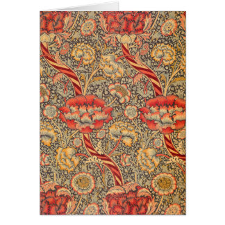 William Morris Wandle for Chintz Design Greeting Cards