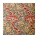 "William Morris Wandle for Chintz Design Ceramic Tile<br><div class=""desc"">This is the Wandle Design for chintz by William Morris circa 1883</div>"