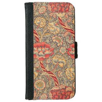 William Morris Wandle for Chintz Design iPhone 6 Wallet Case