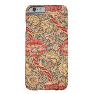 William Morris Wandle para el diseño de la zaraza Funda De iPhone 6 Barely There