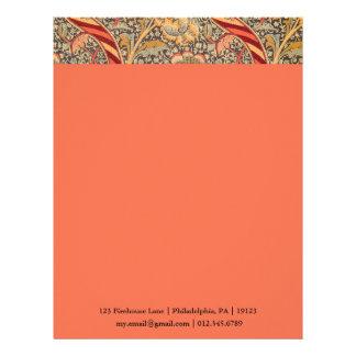 William Morris Wandle para el diseño de la zaraza Membrete