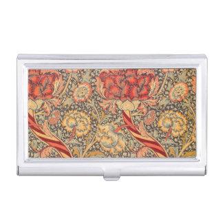 William Morris Wandle para el diseño de la zaraza Cajas De Tarjetas De Presentación
