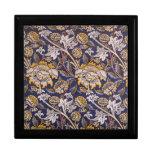 William Morris Wey Floral Wallpaper Design Keepsake Box