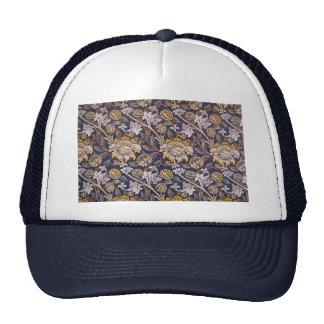William Morris Wey Floral Wallpaper Design Trucker Hat