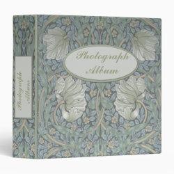 William Morris White Poppies 1.5