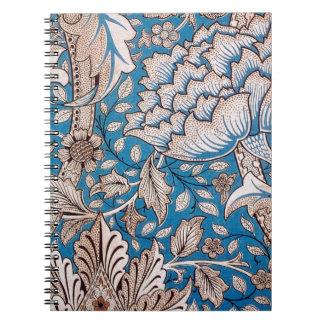 William Morris Windrush Spiral Notebook