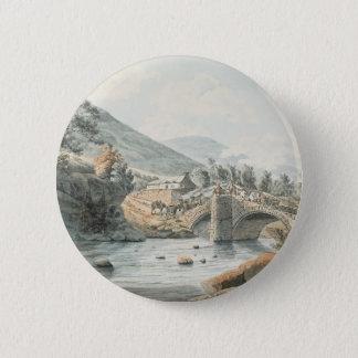 William Payne, Beddgelert Bridge, Northern Wales.j Button