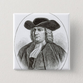 William Penn  engraved by Josiah Wood Whymper Button