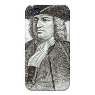 William Penn engraved by Josiah Wood Whymper Cases For iPhone 4
