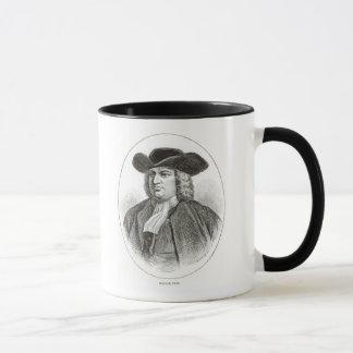 William Penn  engraved by Josiah Wood Whymper Mug