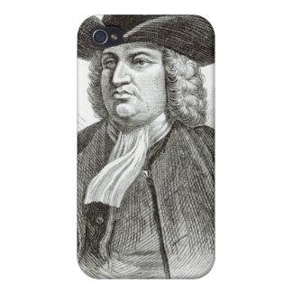 William Penn grabó por la madera Whymper de Josiah iPhone 4 Funda