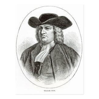 William Penn grabó por la madera Whymper de Josiah Postal