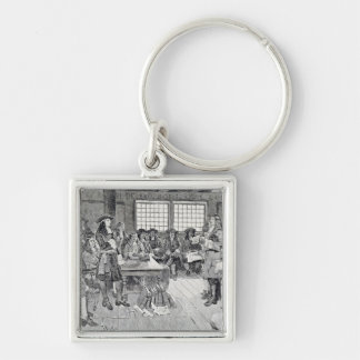 William Penn in Conference with the Colonists Keychain