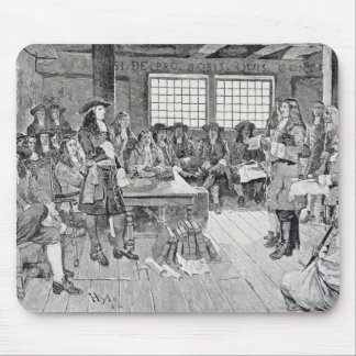 William Penn in Conference with the Colonists Mouse Pad