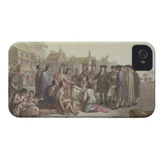 William Penn que negocia el tratado que lleva a Case-Mate iPhone 4 Protectores
