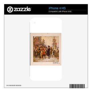 William Penn & Right Is Right Quote iPhone 4 Skin