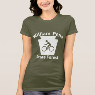 William Penn SF Bike - Women's Dark T-shirt