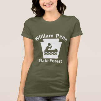 William Penn SF Boat - Women's Dark T-shirt