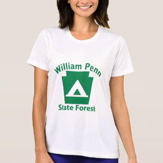 William Penn SF Camp - Women's Microfiber T T-Shirt