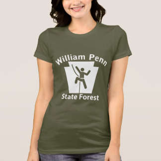 William Penn SF Climb - Women's Dark T-shirt