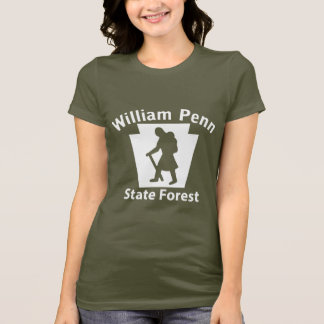 William Penn SF Hiker (female) - Women's Dark T T-Shirt