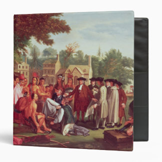 William Penn's Treaty with the Indians in 1683 Binder