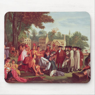 William Penn's Treaty with the Indians in 1683 Mouse Pad