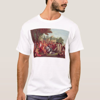 William Penn's Treaty with the Indians in 1683 T-Shirt
