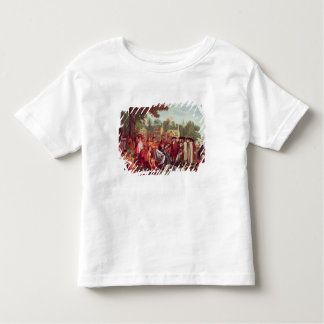 William Penn's Treaty with the Indians in 1683 Toddler T-shirt