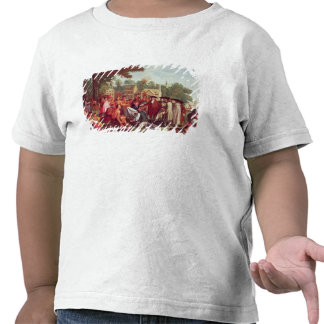 William Penn's Treaty with the Indians in 1683 T Shirt