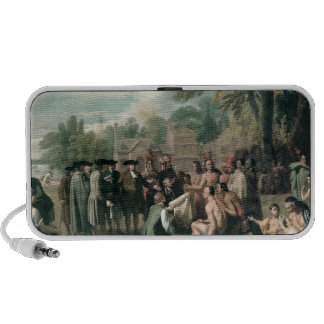 William Penn's Treaty with the Indians in Portable Speaker