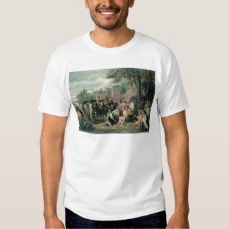 William Penn's Treaty with the Indians in T-shirt