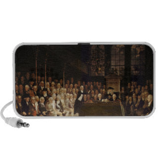 William Pitt addressing the House Mini Speaker