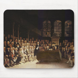 William Pitt addressing the House Mouse Pad