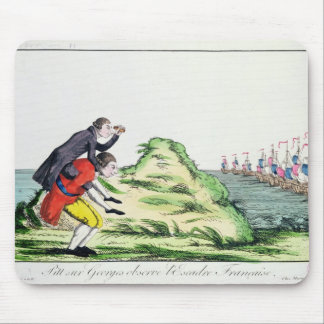 William Pitt Observing the French Squadron Mouse Pad