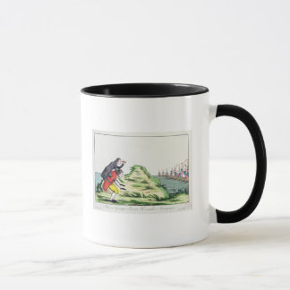 William Pitt Observing the French Squadron Mug