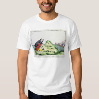 William Pitt Observing the French Squadron T-shirt