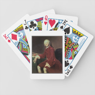 William Pitt the 'Elder', later 1st Earl of Chatha Bicycle Playing Cards