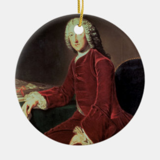 William Pitt the 'Elder', later 1st Earl of Chatha Ceramic Ornament