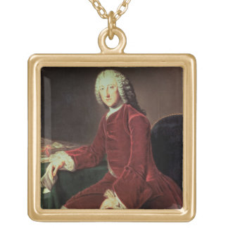 William Pitt the 'Elder', later 1st Earl of Chatha Gold Plated Necklace