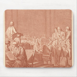 William Pitt the Elder  Opposing the Peace Mouse Pad