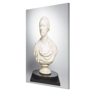 William Pitt the Younger (1759-1806) 1807 (marble) Canvas Print